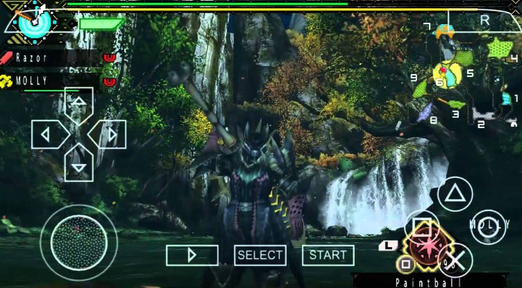 Monster Hunter 3rd PPSSPP Iso