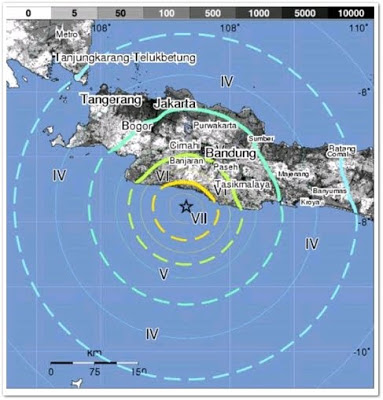Guncangan Gempa Subang Terasa Hingga Ibu Kota Jakarta
