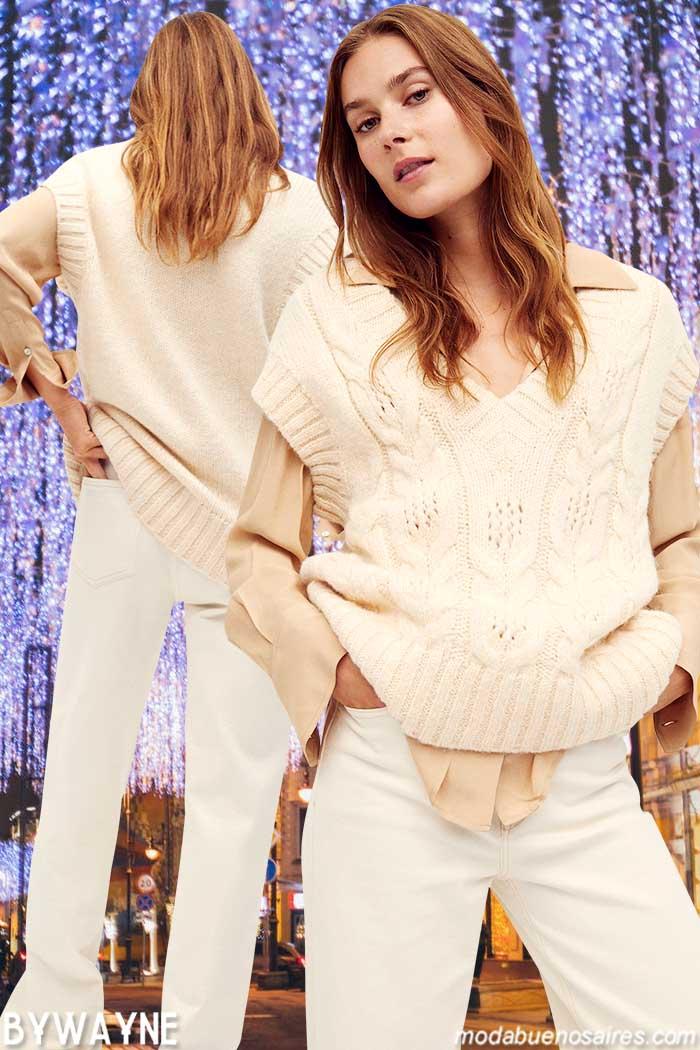 Tejidos otoño invierno 2021 sweaters mujer