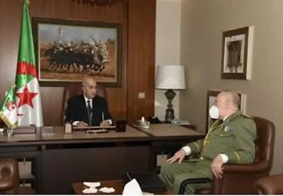 مرض حمى العداء للمغرب استبدت بالقيادة الجزائرية