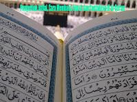 Pengertian Istifal, Cara Membaca, Huruf, dan Contohnya di al-Qur'an
