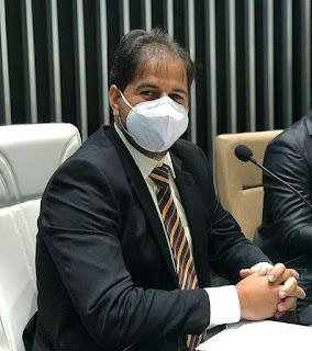 Presidente da Câmara Municipal de Guarabira,  Wilsinho em discurso chamou a atenção para a importância da imunização contra a COVID-19