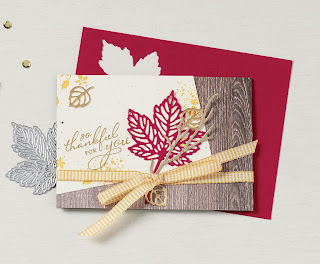 Stampin' Up! Gorgeous Leaves Bundle ~ July-December 2021 Mini Catalog #stampinup