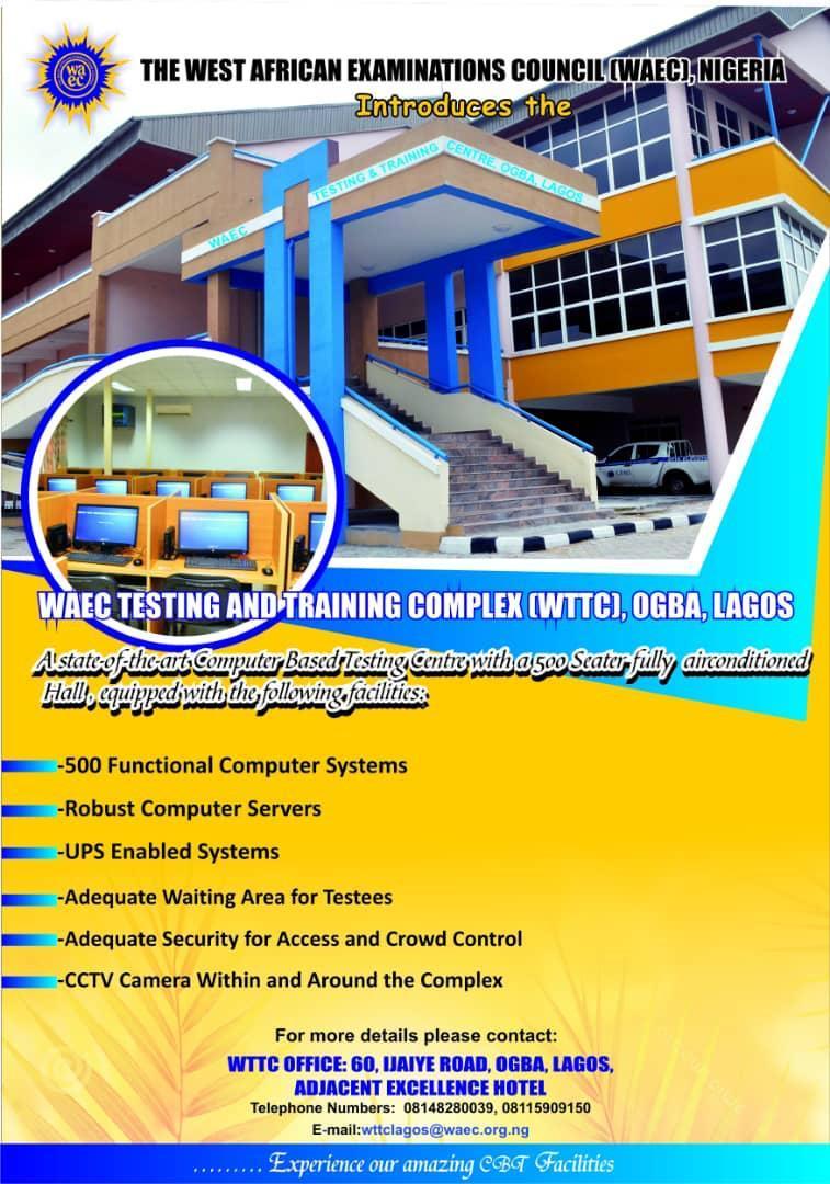 WAEC Testing & Training Complex (WTTC) Ogba Lagos