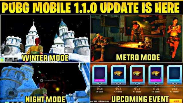 Download PUBG Mobile 1.1 Beta Update on your device