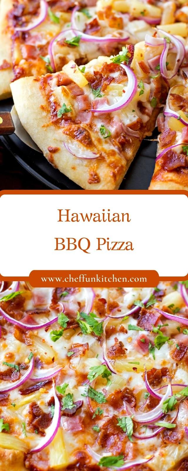 Hawaiian BBQ Pizza