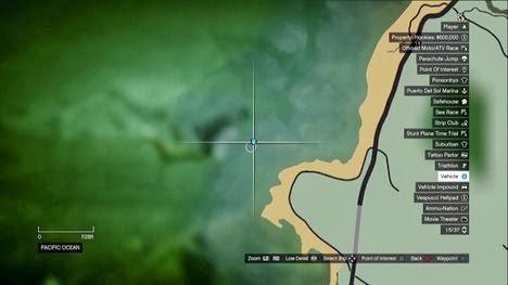 lokasi harta Karun di GTA 5