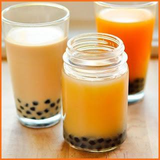 Cách pha trà sữa chanh leo trân châu đen chua ngọt kích thích vị giác 3