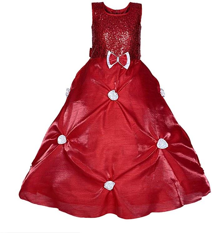 Saba Garments Princess Girls Cindrella Ball Gown Dress