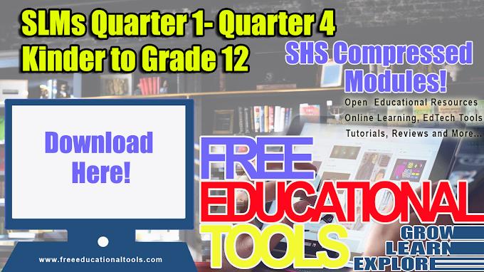 SLMs for Quarter 1 - Quarter 4 - [Available for Download]