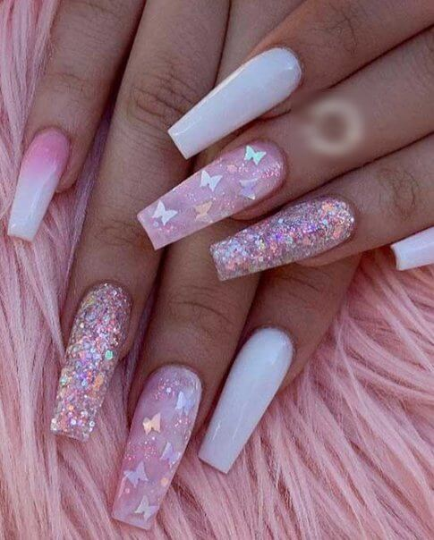 26 Cute And Simple Acrylic Nail Art Ideas You May Love Styleuki,Faith Beautiful Tattoo Designs For Women