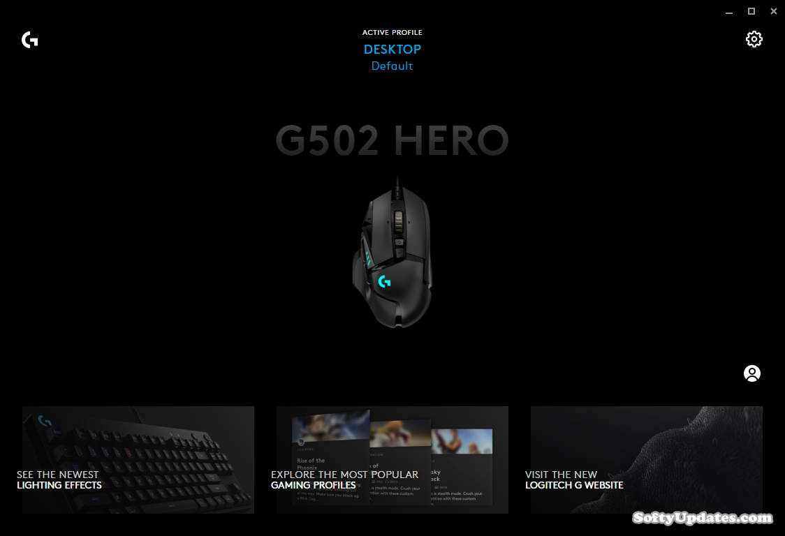 Manage Logitech G HUB Profiles for Games