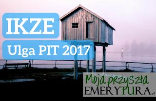 Ulga emerytalna IKZE 2017 PIT