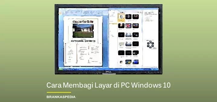 Cara Membagi Layar di PC Windows 10 (Split Screen)