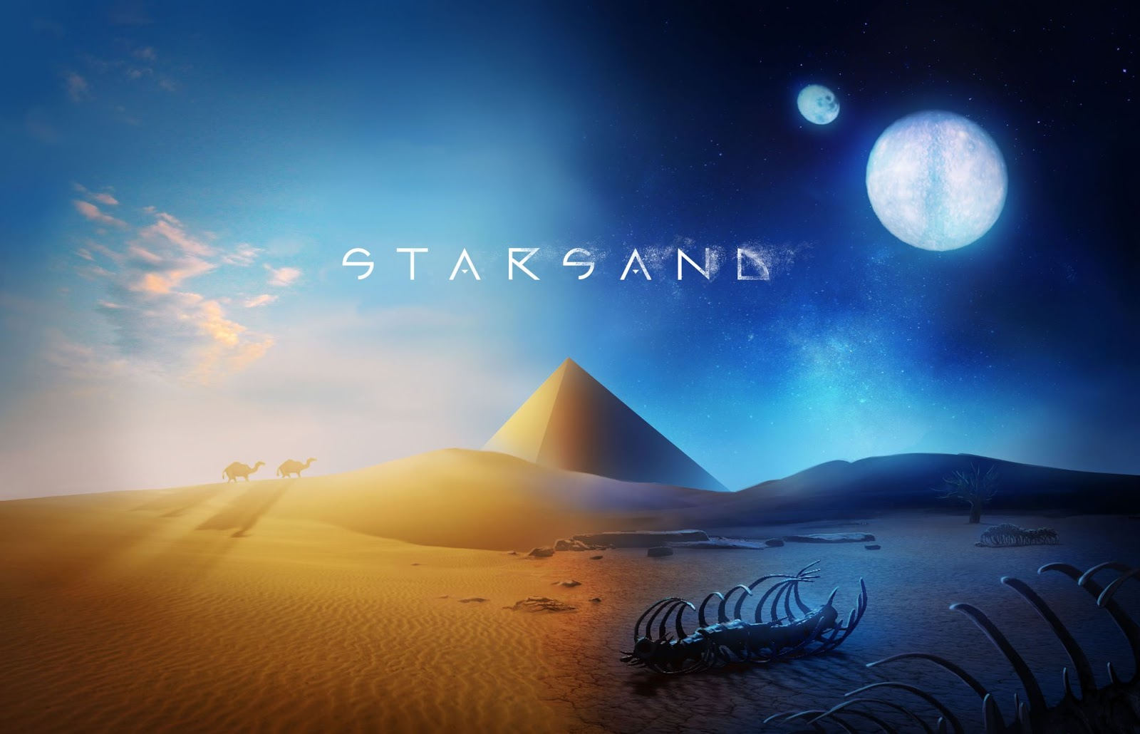 Starsand emerges from the desert - Adapt and escape this survival sandbox adventure