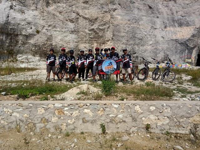 Komunitas Sepeda GunungKelurahan Sumurbatu Adakan Gowes Bareng