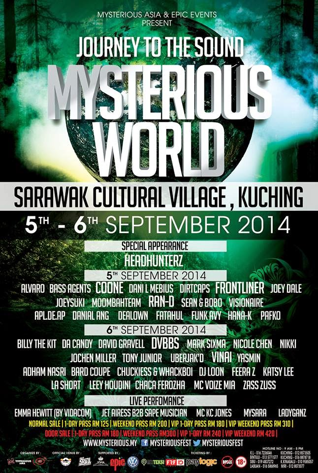 [ GIVEAWAY ] Mysterious World - Sarawak Cultural Village, Kuching