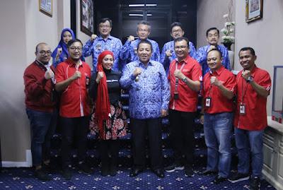 Pemprov Lampung Ajak Telkomsel Bersinergi Kembangkan Pariwisata dan Ekonomi Kreatif