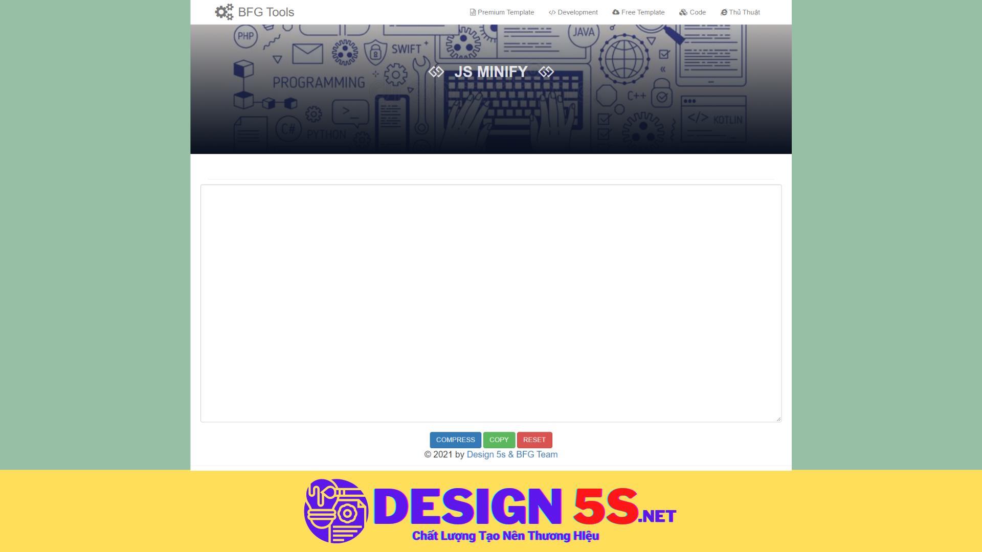 Hướng Dẫn Nén html, css, js Cải Thiện Tốc Độ website - Ảnh 2
