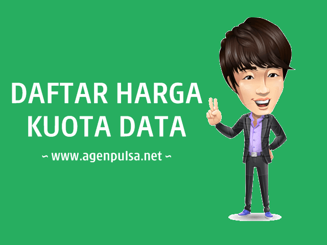Daftar Harga Paket Internet Kuota Data Murah AgenPulsa.net