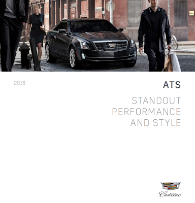 Downloadable 2016 Cadillac ATS Brochure