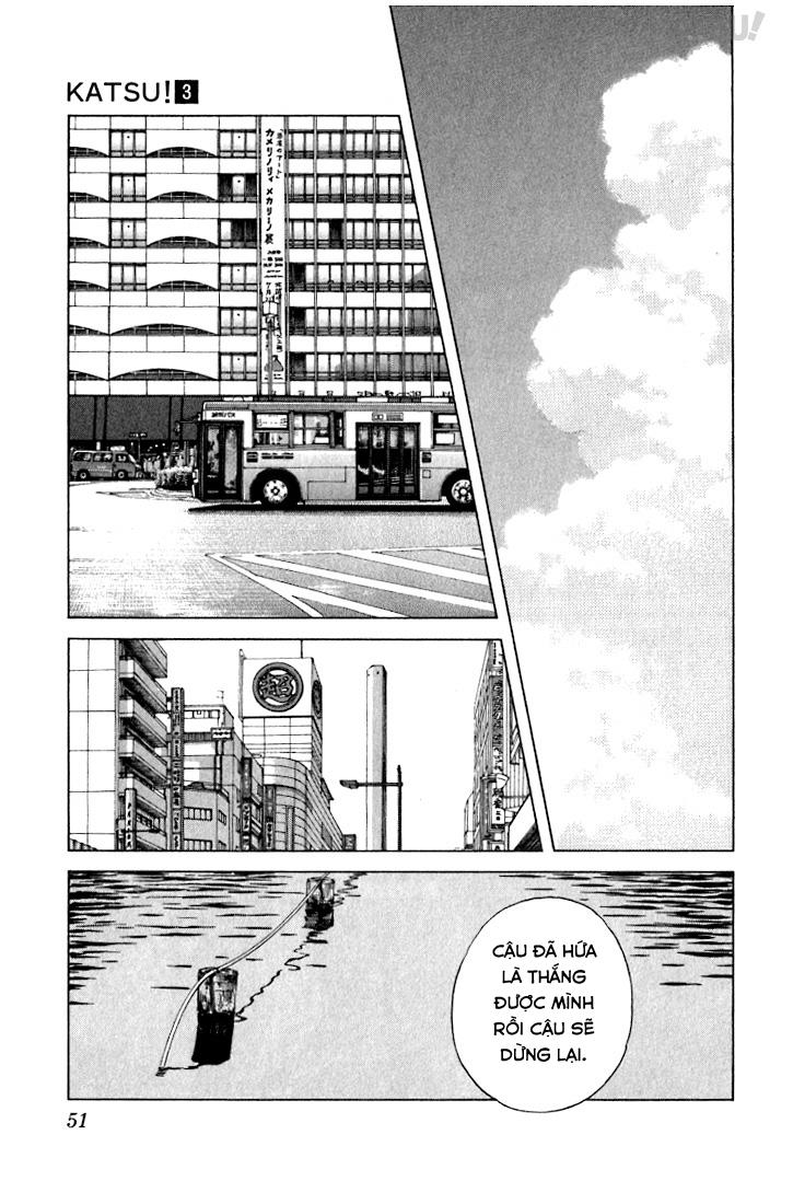 Katsu! chương 021: đừng quá kiêu ngạo chứ! trang 13