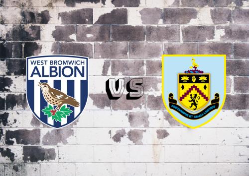 West Bromwich Albion vs Burnley  Resumen