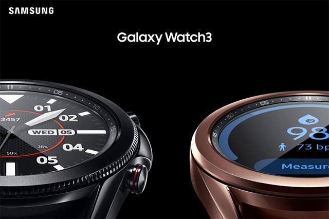 سامسونج تطلق الساعة الذكية Galaxy Watch 3