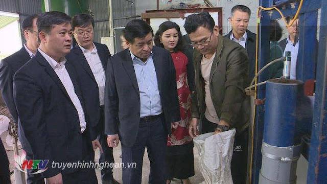 Ngày 6/3: Bộ trưởng Bộ KH&ĐT Nguyễn Chí Dũng thăm Nghệ An đang cách ly Covid-19 14 ngày