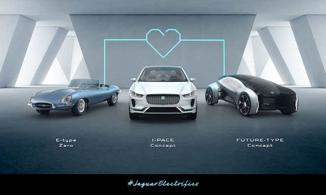 All Jaguars and Land Rover presented from 2020 will be electric