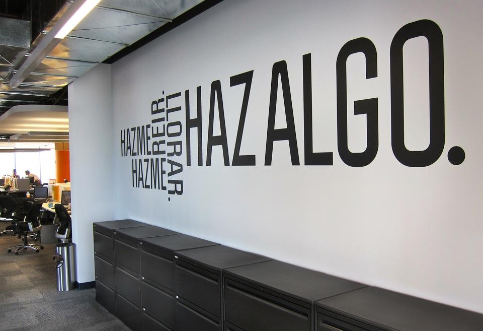 Twc vinilos for Decoracion de paredes para oficinas
