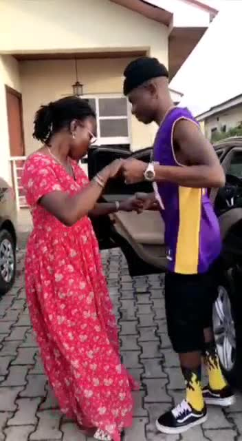 lil2 Lil Kesh Acquires Brand New Car For His Mom (Photos)