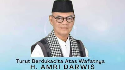 Amri Darwis, Mantan Bupati Limapuluh Kota Meninggal Dunia