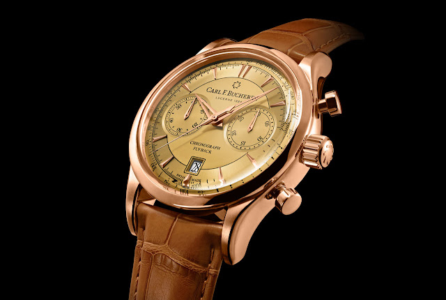 Carl F. Bucherer - Manero Flyback with Champagne Dial
