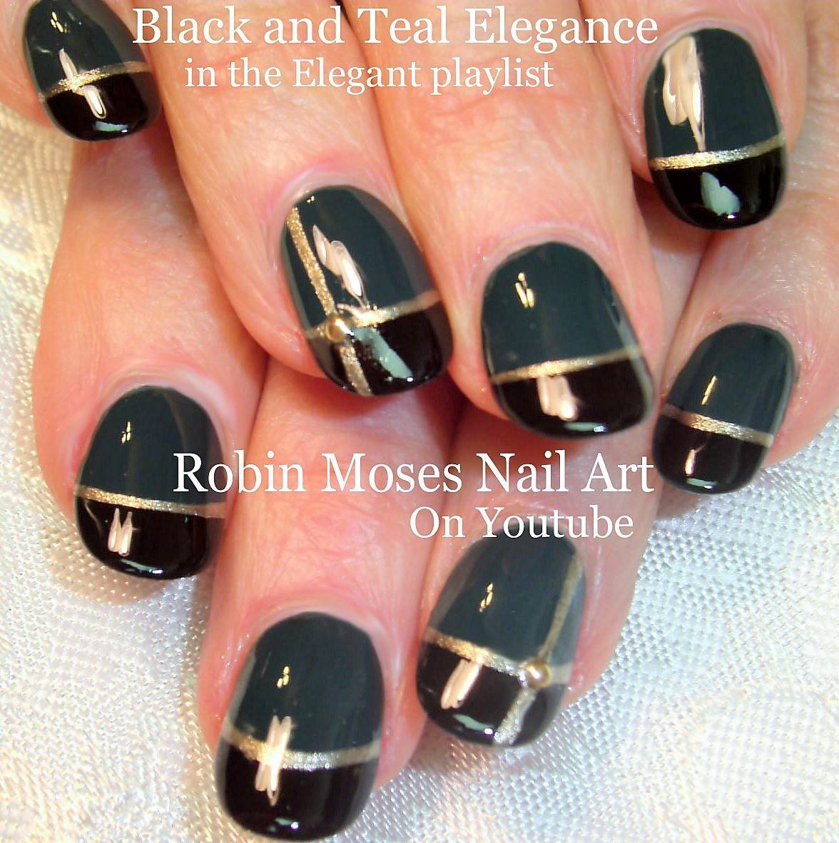 Elegant Nail Art Playlist | Easy Formal Nail Designs | Nail Tutorials for  Wedding Nail Art, Prom Nails and Ideas for beginners to advanced Artists! - Nail Art By Robin Moses: Elegant Nail Art Ideas & Tutorial Playlist