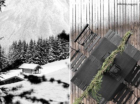 Ein Weihnachtsmarktstand für die Terrasse selber bauen