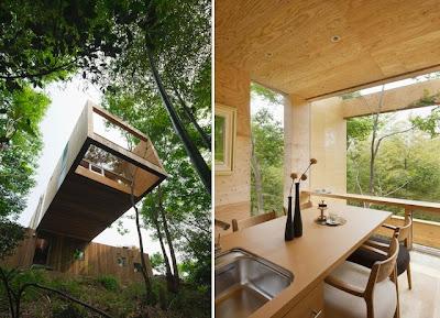 cabaña hechas de madera