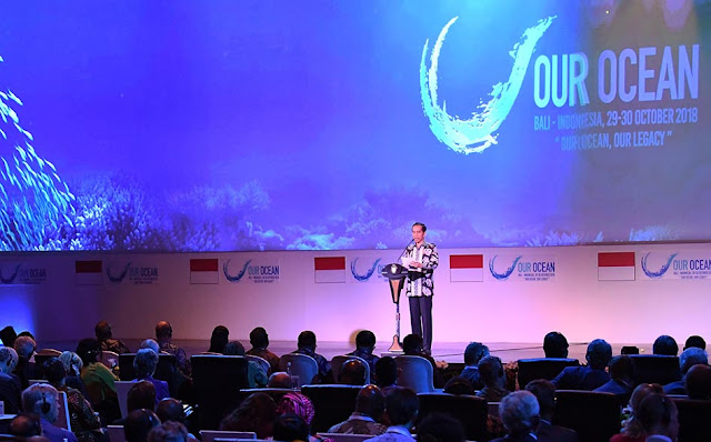 Presiden Jokowi Tegaskan Tekad Indonesia Menjadi Kekuatan Maritim Dunia