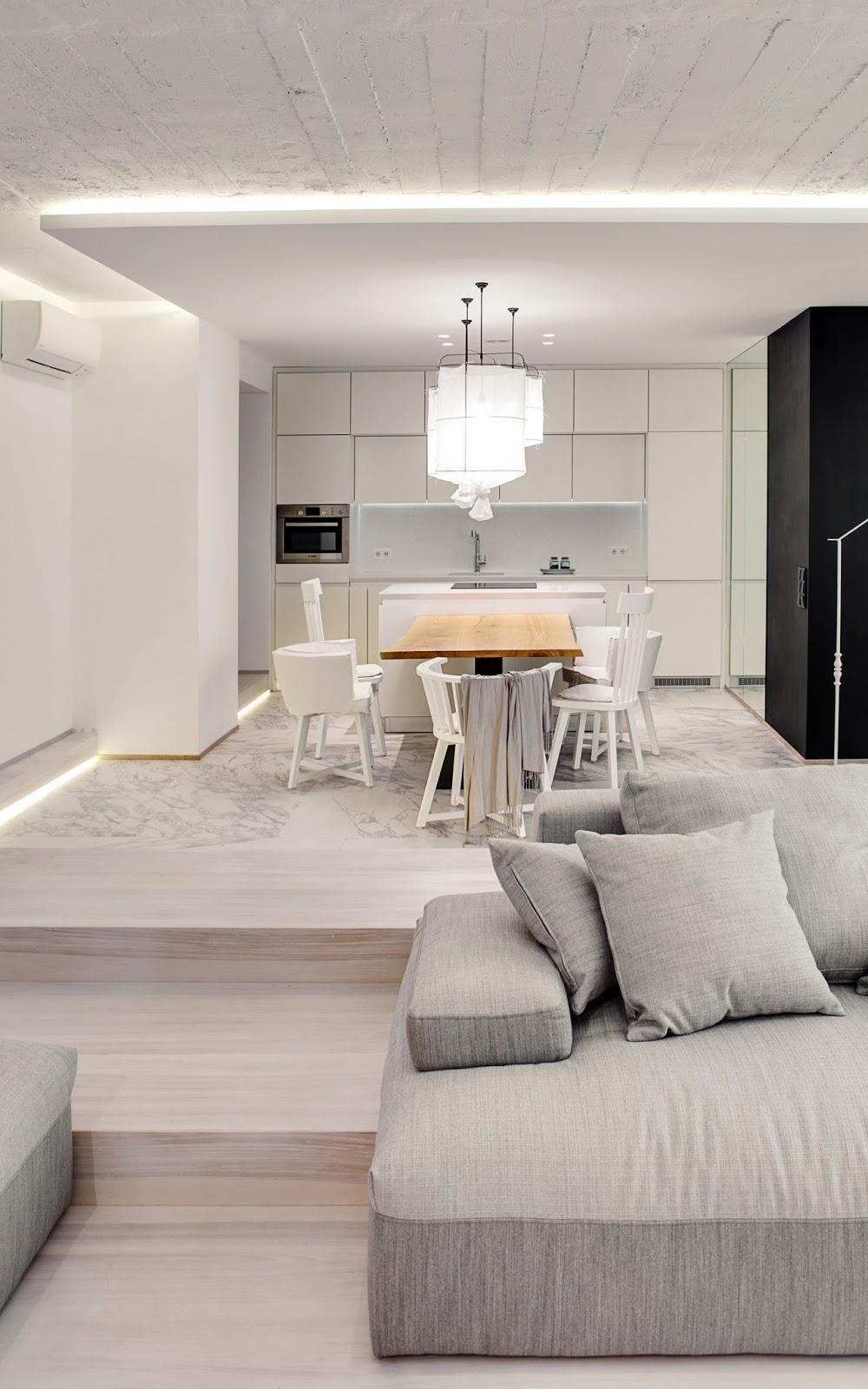 Apartament W Bieli I Drewnie Bajkowe Wn Trza