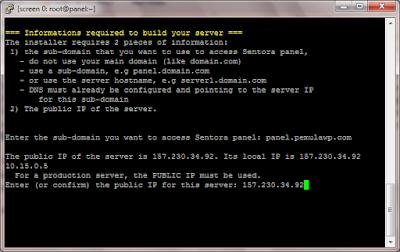 Cara Install Sentora di VPS CentOS 7 64 bit