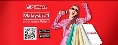 PG Mall pusat beli belah online paling murah di Malaysia