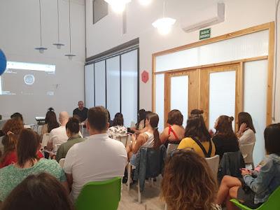 Pablo Duque impartiendo el seminario