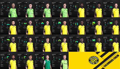PES 2021 Columbus Crew Facepack by I3ens