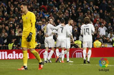 Crónica Real Madrid 4 Vs Sevilla FC 0