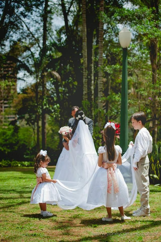 romantico-festa-noivos-crianças