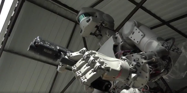Russian Killer Space Robot Can Fire Guns With Terrifying Accuracy