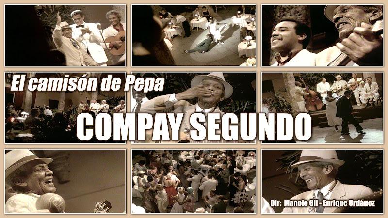 Compay Segundo - ¨El camisón de Pepa¨ - Videoclip - Dirección: Manolo Gil - Enrique Urdánoz. Portal Del Vídeo Clip Cubano