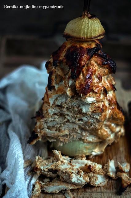 kebab, kurczak, piersi z kurczaka, jedzenie, obiad, szaszlyk, bernika, kulinarny pamietnik
