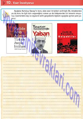 Top Yayınları 8. Sınıf İnkılap Tarihi Çalışma Kitabı Cevapları Sayfa 43