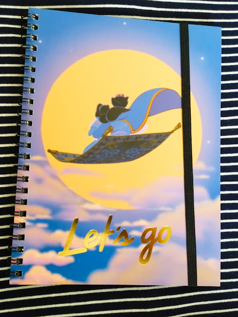 Aladdin notebook from Typo